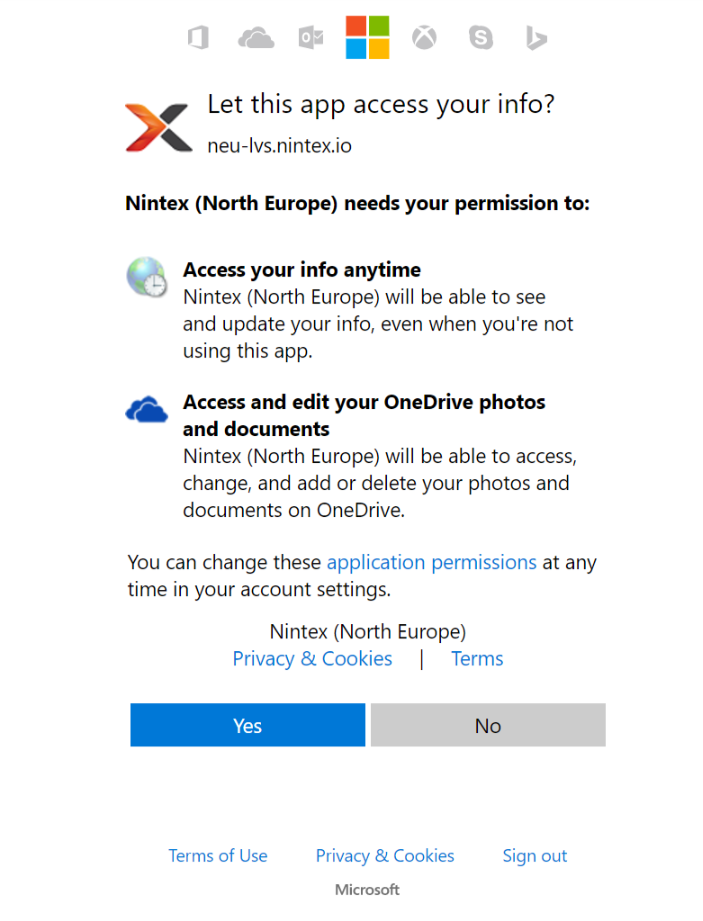 OneDrive Authorization monit