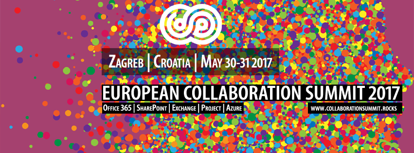 Collaboration Summit 2017 Promo image