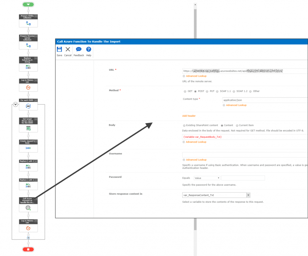 Nintex Workflow to call Azure Function