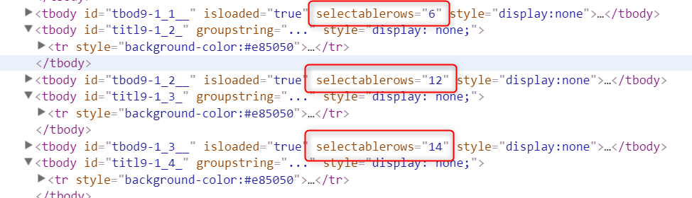 SharePoint grouped list view - selectable rows property