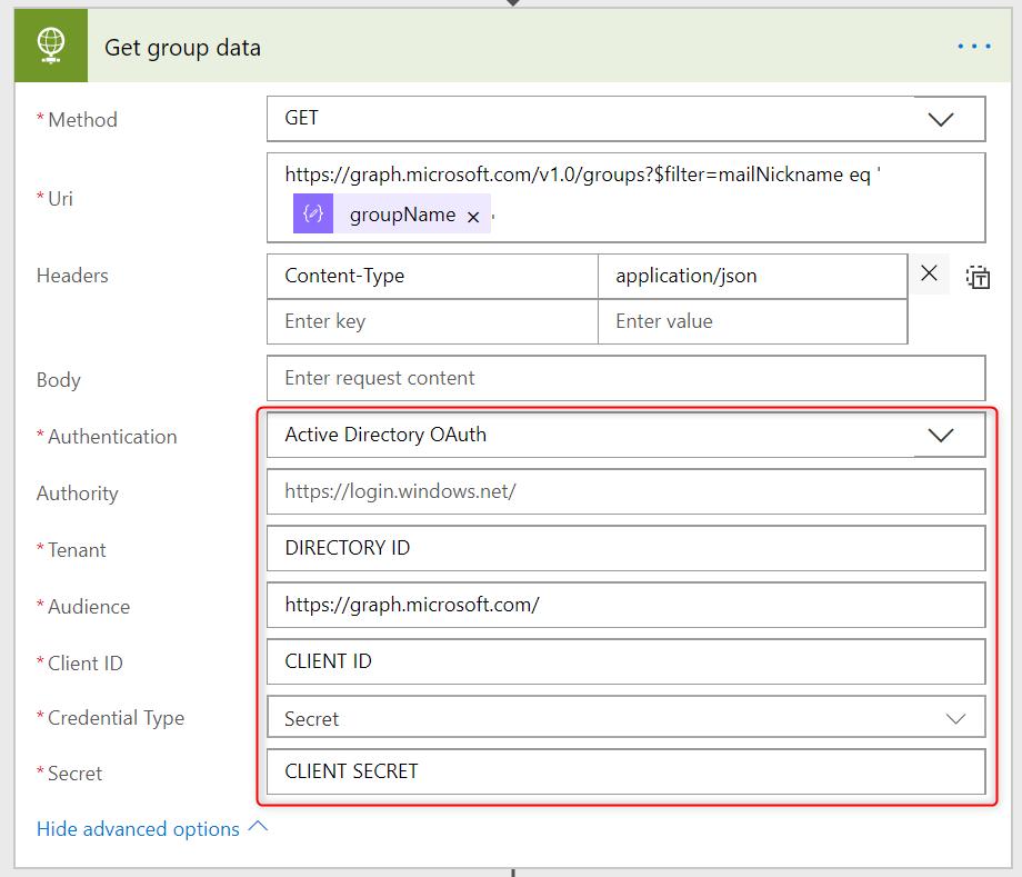 Add Office 365 group members using Microsoft Flow – Tomasz