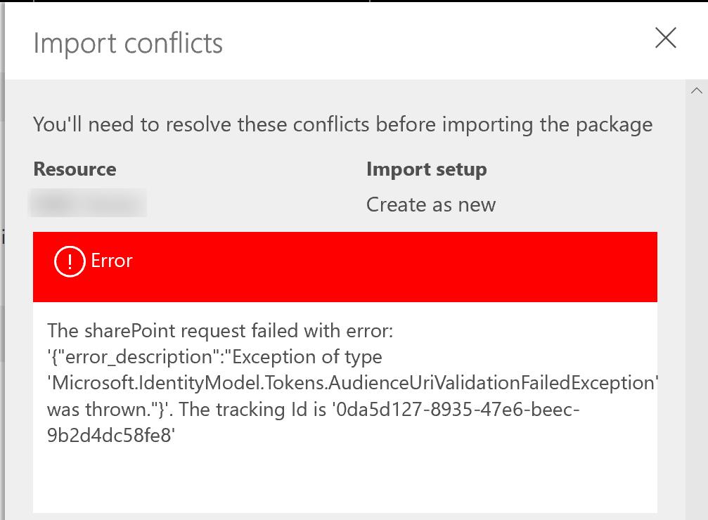 Microsoft.IdentityModel.Tokens.AudienceUriValidationFailedException