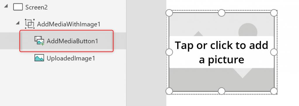 AddMediaButton in PowerApps