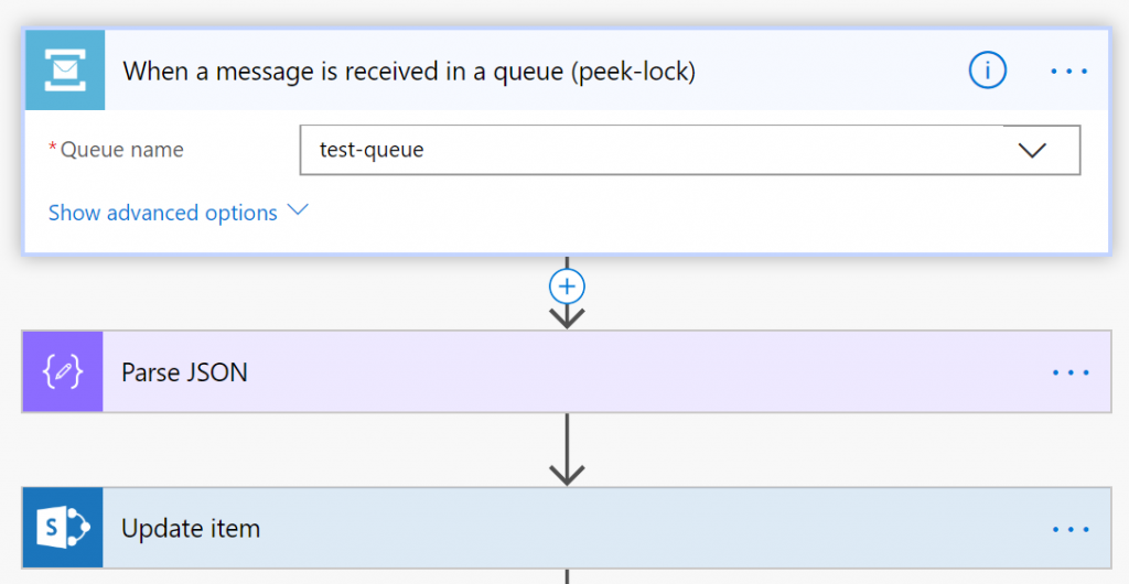 Azure Service Bus to trigger Microsoft Flow